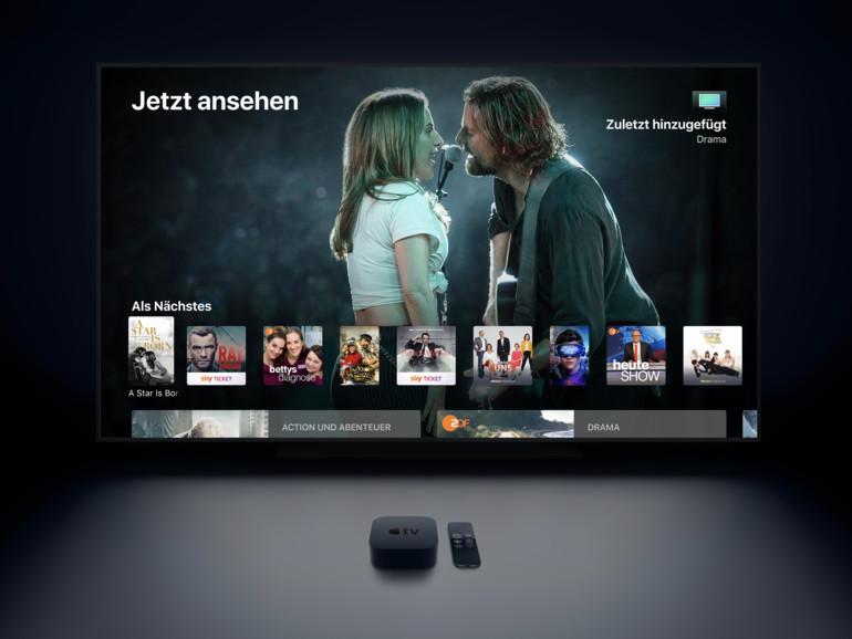 Apple TV: So nutzen Sie die Apple Watch als Fernbedienung