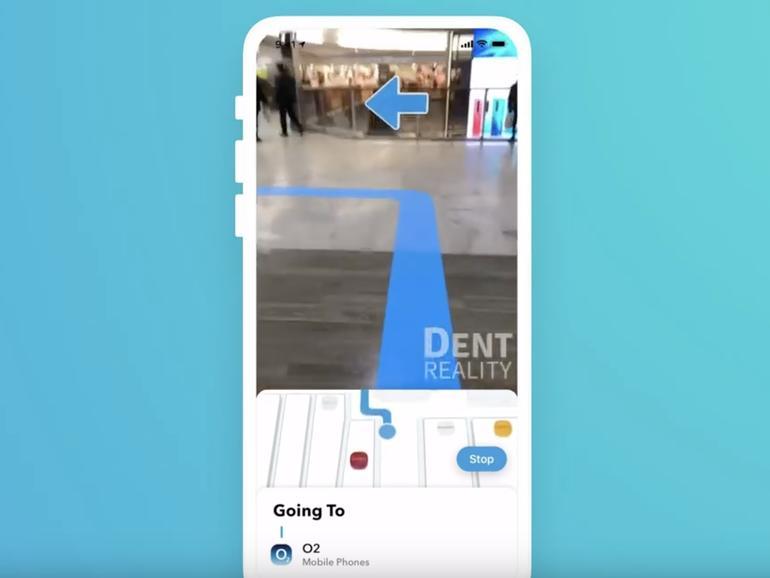 Apps können bald Indoor-Navigation mit Augmented Reality mischen
