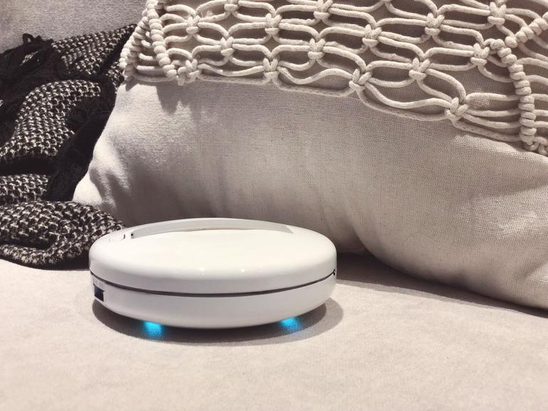 Der Cleansebot macht jedes Hotelbett frisch.