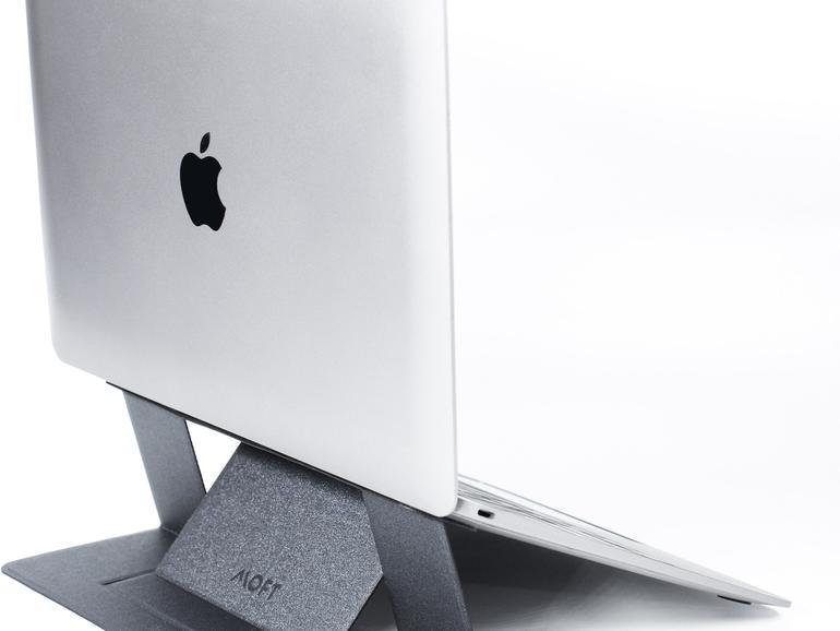 Moft: ein Laptop-Ständer, der immer dabei ist.