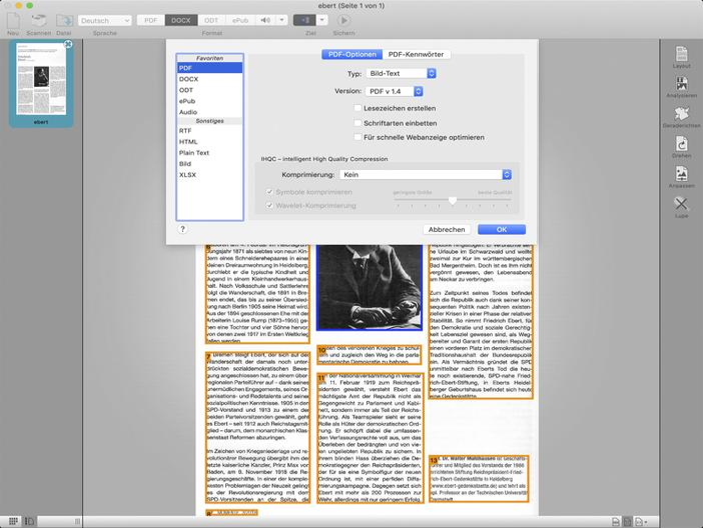 Texte scannen und erkennen: OCR am Mac
