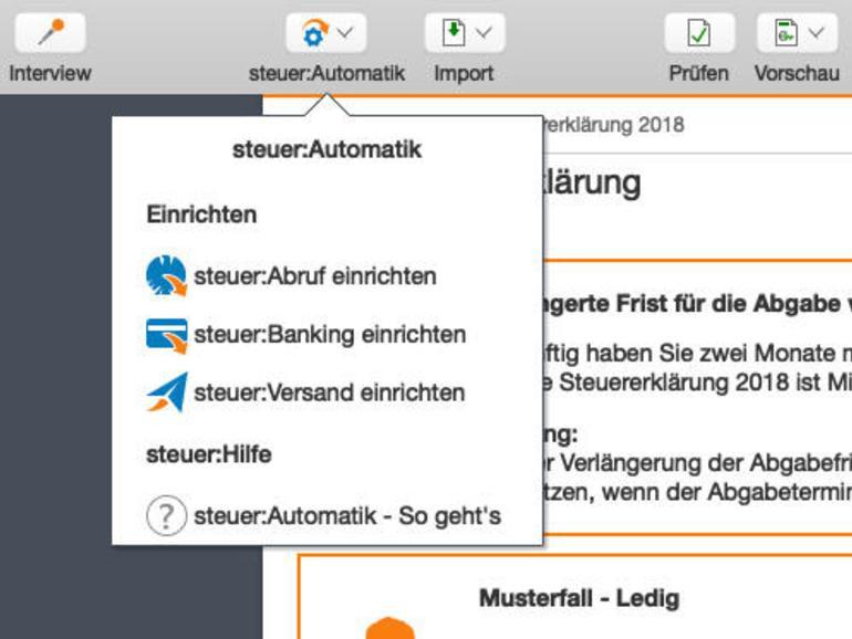 Mit Wiso Steuer Mac: Steuern sparen mit Spaß