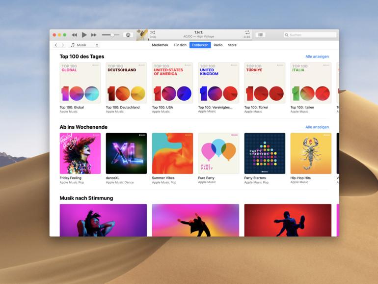 iTunes im Vordergrund: So behalten Sie den Überblick über die Wiedergabe