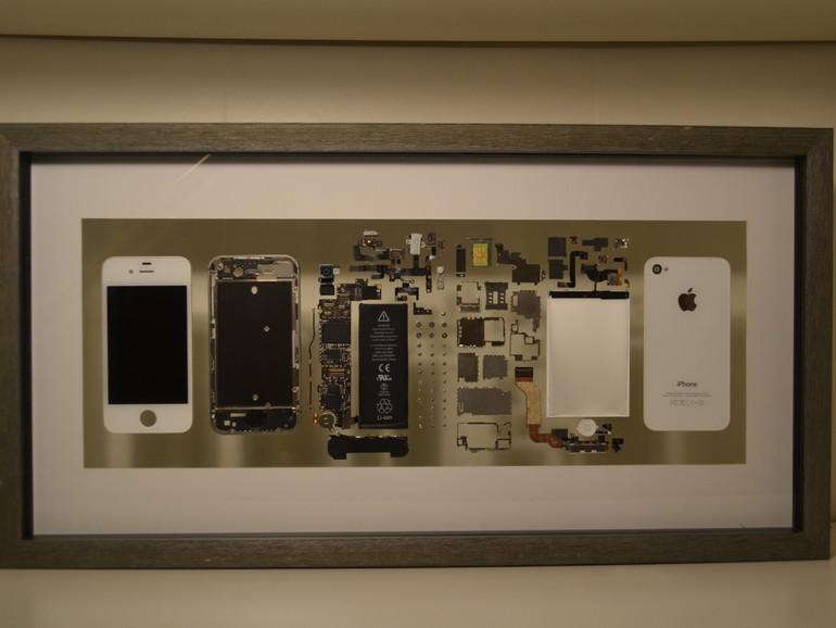 iPhone im Bilderrahmen