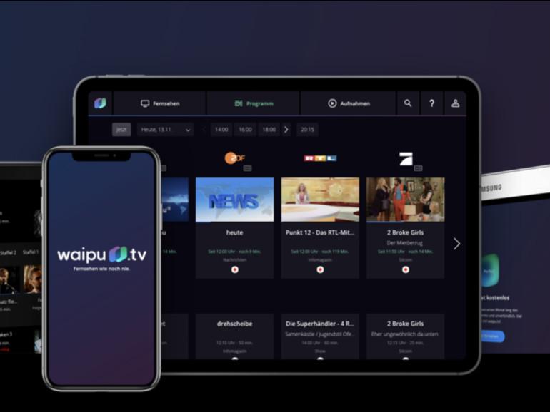 Waipu.tv: Live-Fernsehen ab sofort auch auf Apple TV