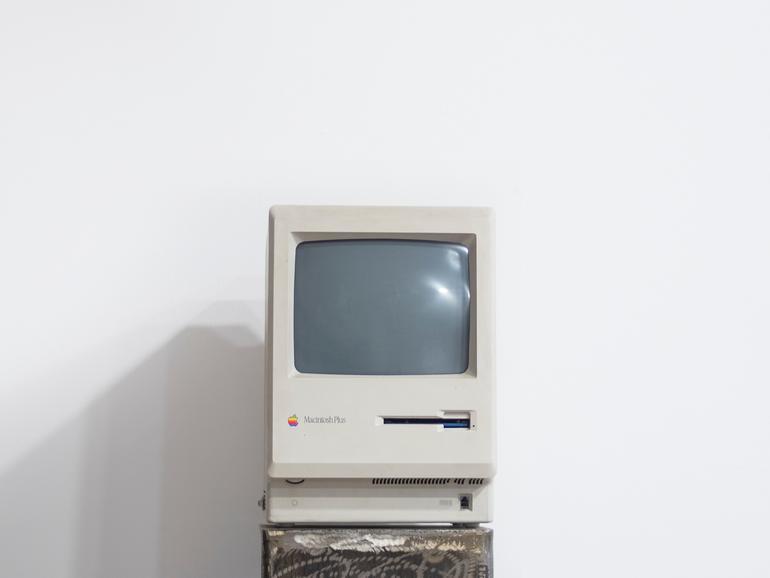 Macs wie diese wurden mittels Audio-Kassetten-Einführung erklärt