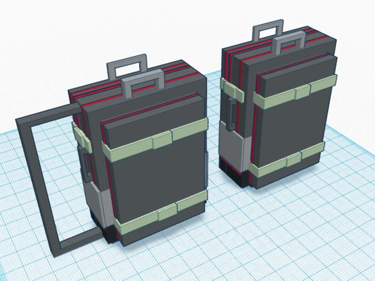 Der Rucksack entsteht im Designprozess