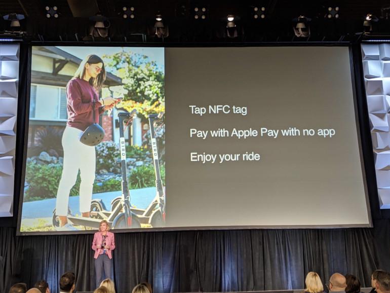 Apple-Pay-Chefin Jennifer Bailey erklärt neue Funktionen in Las Vegas