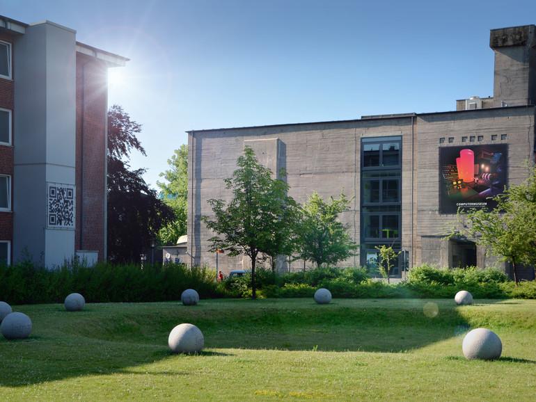 Computermuseum der Fachhochschule Kiel, Außenansicht