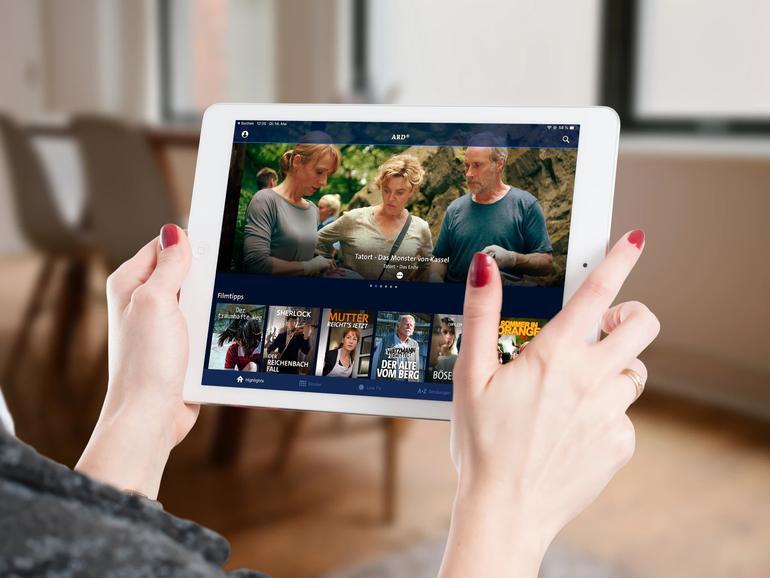 ARD Mediathek am iPad