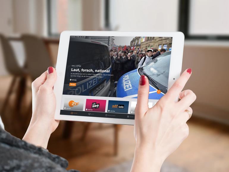 ZDF Mediathek am iPad