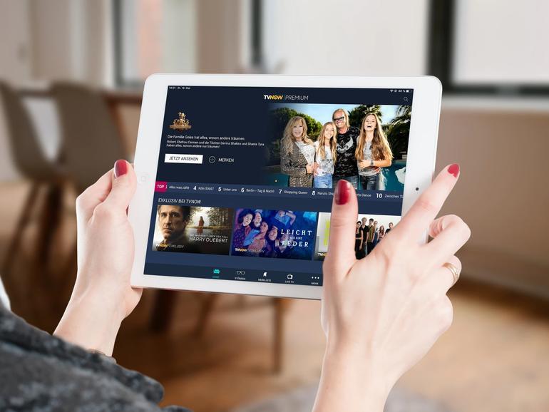 TVNow am iPad