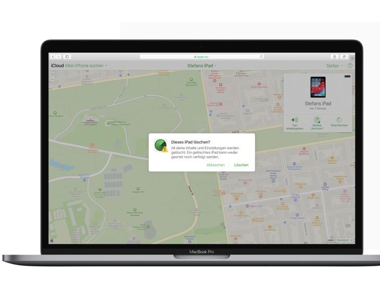 So suchen Sie Ihr iPhone, iPad oder Apple Watch am Mac