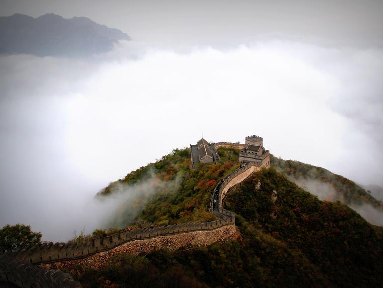 Es scheint als würde US-Präsident Trump um China eine Mauer bauen wollen