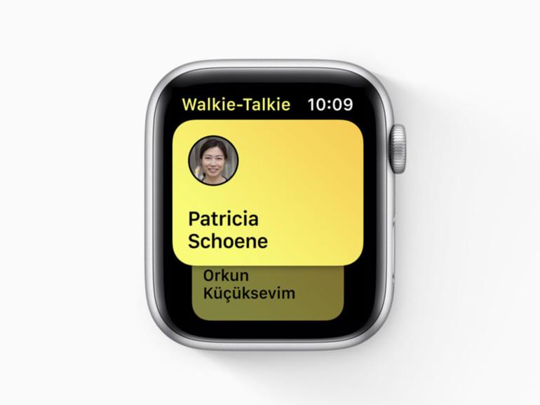Apple Watch: So meistern Sie das Walkie-Talkie-Feature