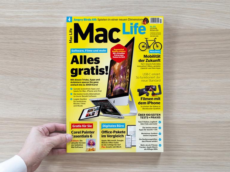 Die neue Mac Life ist da – Alles gratis!