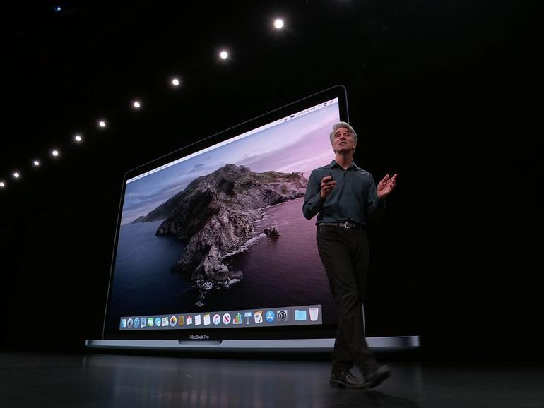 Craig Federighi stellt macOS 10.15 Catalina vor