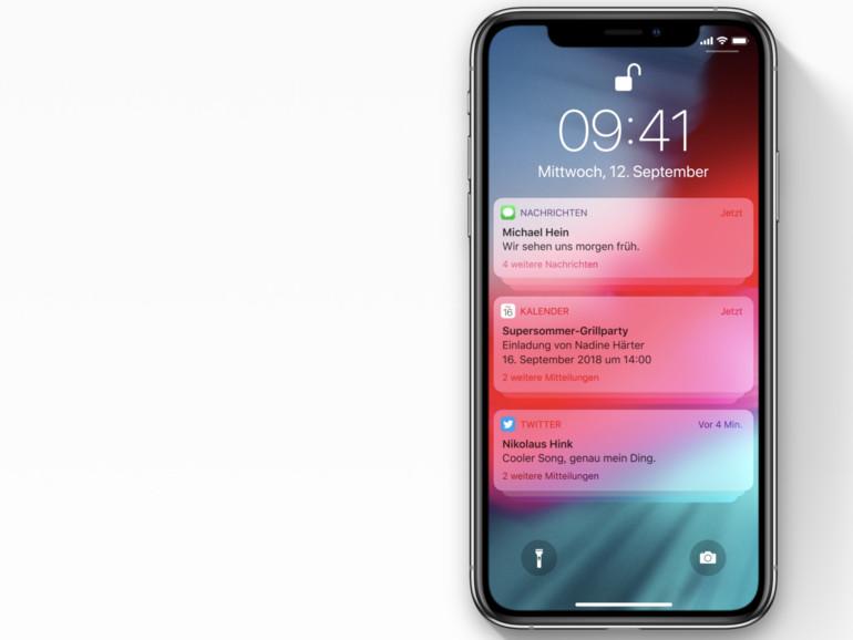 iOS 12: Drei nützliche Tipps zu den Benachrichtigungen