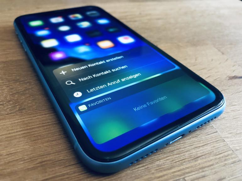 iPhone 2019: Ende von 3D Touch wohl besiegelt