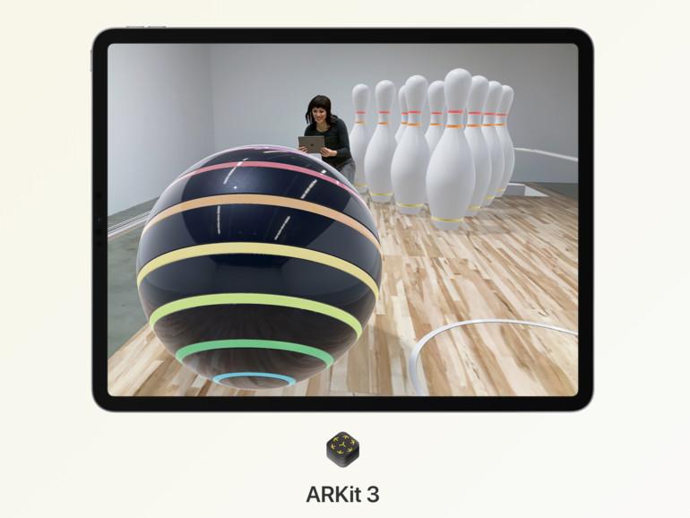ARKit 3: Neue AR-Technolgie sorgt für Staunen