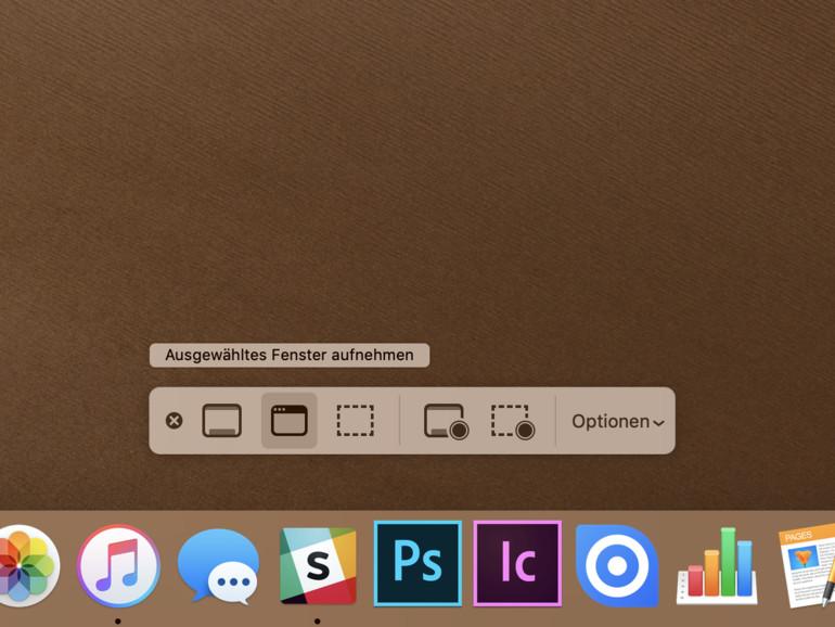 Bildschirmaufnahme am Mac: So erstellen Sie Screenshots und Videos mit macOS Mojave