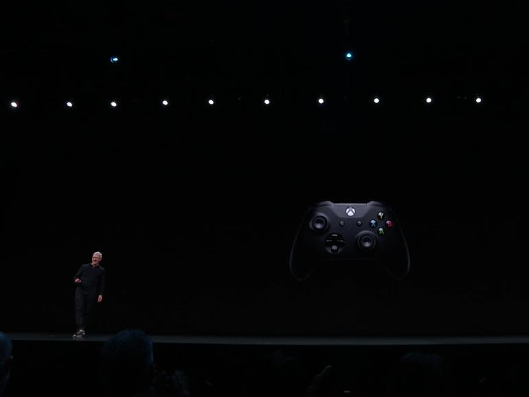 Apple TV kann jetzt Xbox- und PlayStation-Gamepads ansprechen