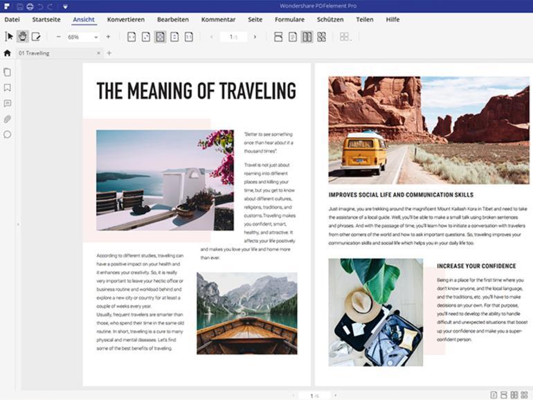PDFs in ihrem Element