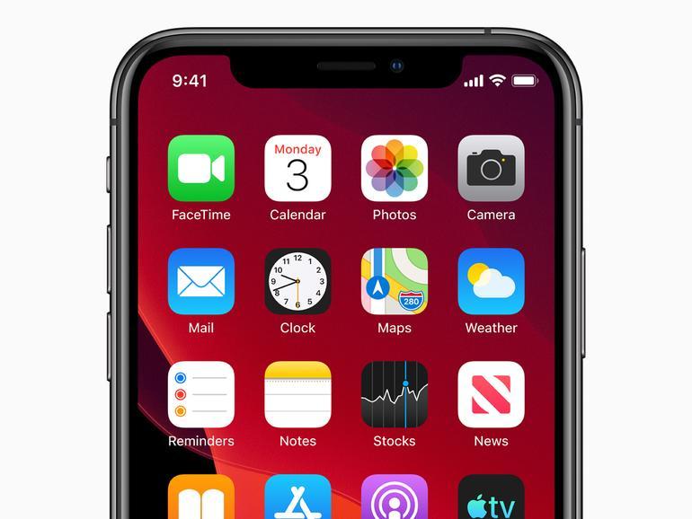 iPhone XS mit iOS 13
