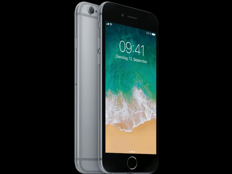 iPhone 6s in Spacegrau