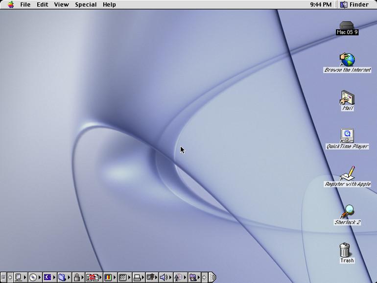 1999 kam Mac OS 9 auf den Markt