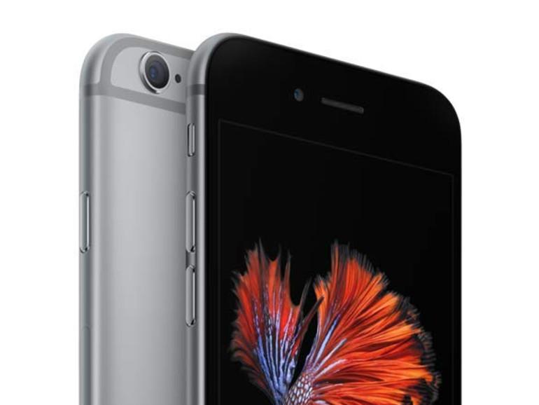 Das erste Apple-Smartphone mit 3D Touch war 2015 das iPhone 6s