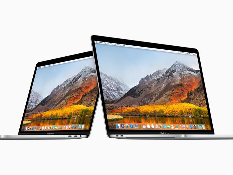 Das MacBook Pro nutzt nur USB Type C Anschlüsse