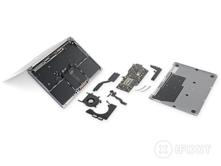 MacBook Pro (13 Zoll): iFixit zerlegt neues Einsteiger-Modell - Details zu Batterie und Keyboard bekannt