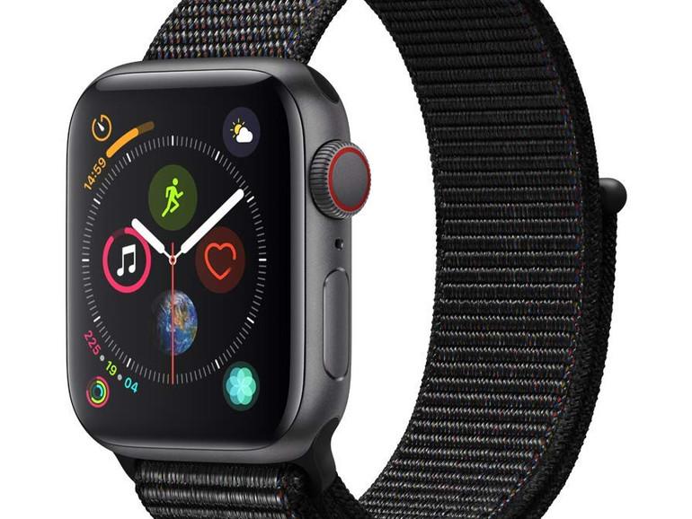 Apple Watch Series 4 mit Sport Loop