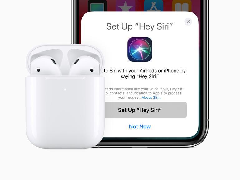 die original airpods lassen sich leicht mit dem iphone koppeln