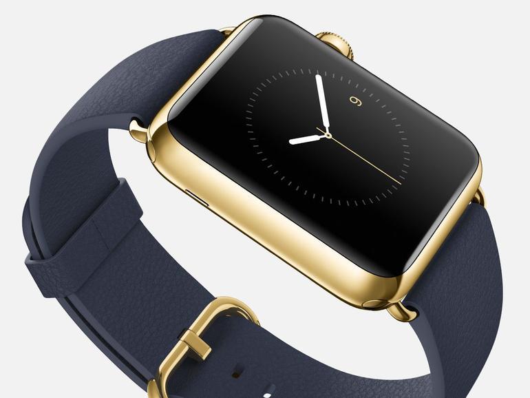 Apple Watch Edition: Goldene Uhr mit schwachen Verkaufszahlen