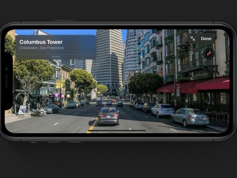 """iOS 13 bringt """"Look Around"""" in Karten mit"""