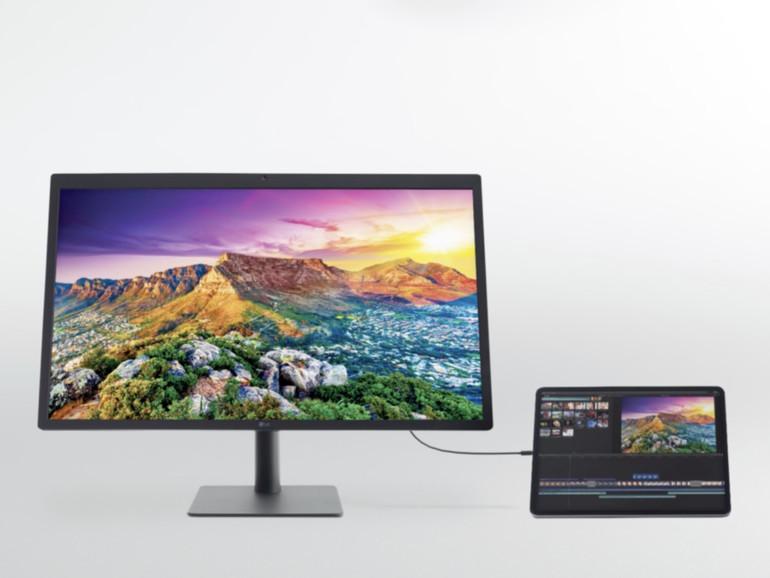 LG UltraFine 5K Display: Keine 5K-Auflösung für das iPad Pro