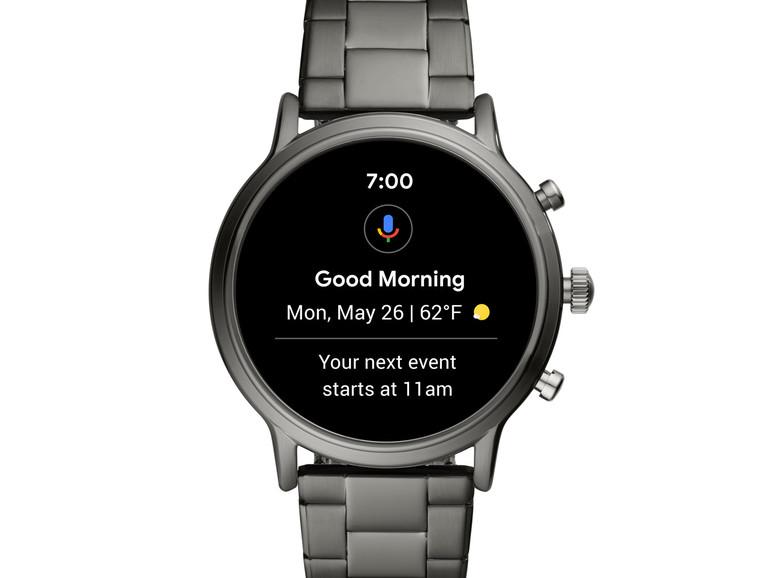 Fossil: Smartwatch mit eingebautem Lautsprecher und iPhone-Support