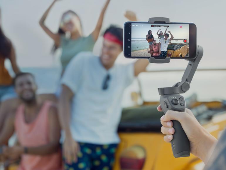 DJI Osmo Mobile 3 vorgestellt: Klappbar und mit kleinerem Preis