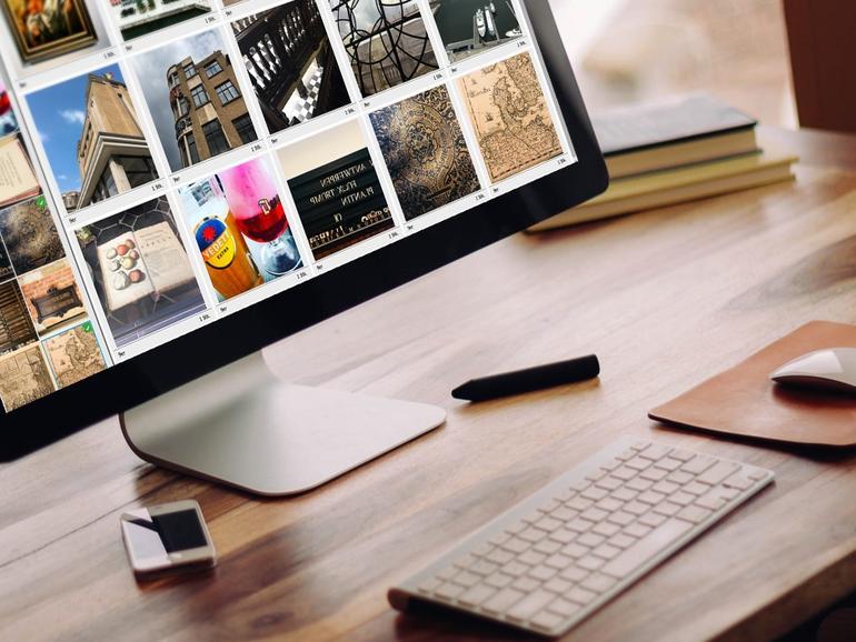 Fotobücher und andere Produkte online erstellen und dann bestellen.