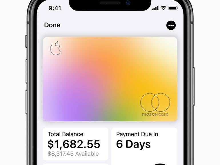Apple Card – die echte ist aus Titan