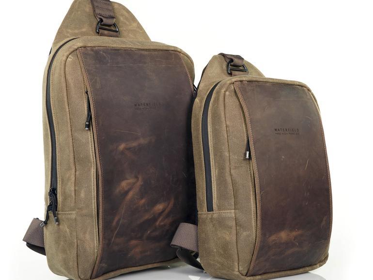 Leichtes Hardware-Gepäck lässt sich in der Sutter Tech Sling sicher und komfortabel transportieren.