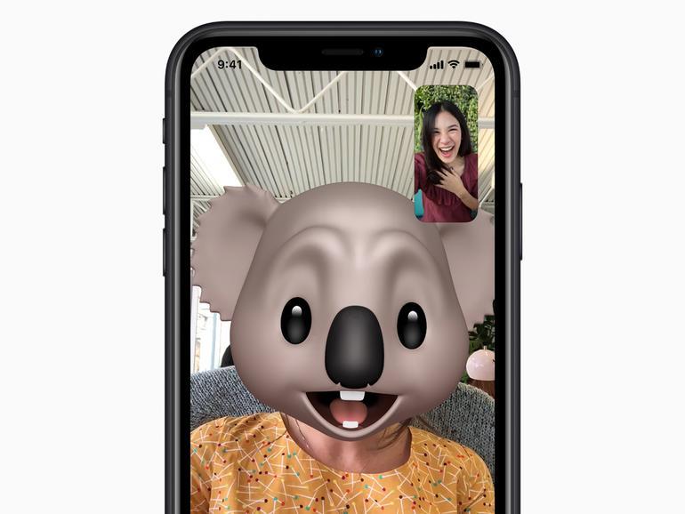 Heute können Sie sogar Memoji in FaceTime nutzen