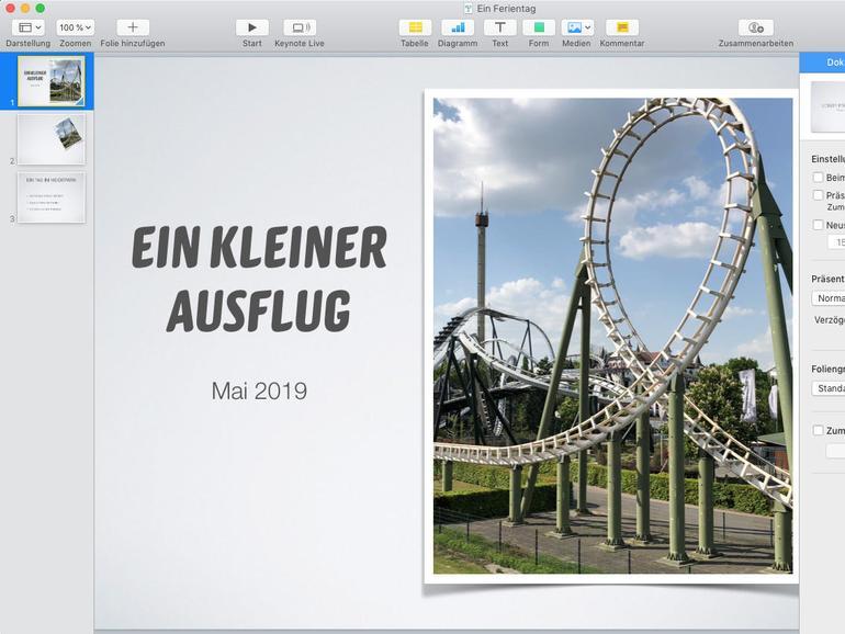 Kreative Präsentationen mit Apple Keynote erstellen