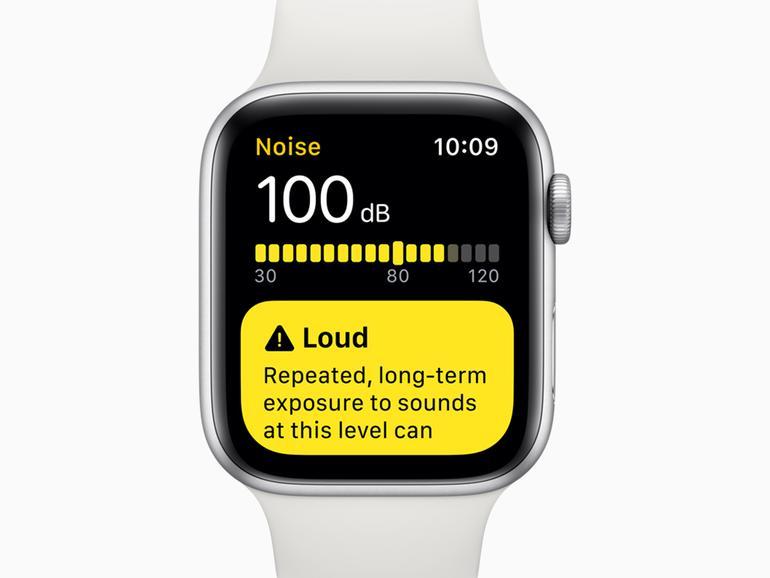Apple legt bei watchOS 6 auch Wert auf Ihre Hörgesundheit