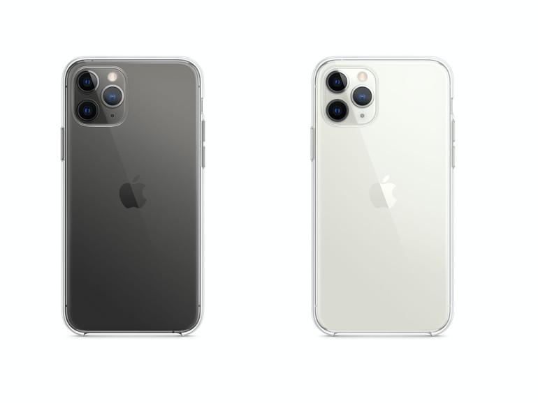 Auch das iPhone 11 Pro bekommt eine transparente Schutzhülle
