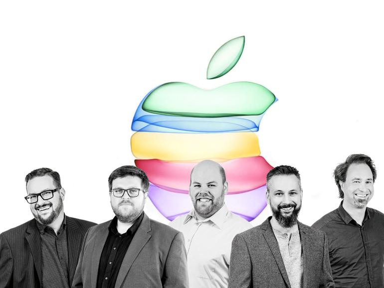 Schleifenquadrat: die brandaktuelle Podcast-Episode zum Apple-Event von gestern Abend.