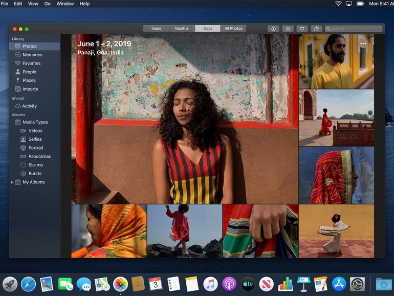 Auf die neue Fotos-App in macOS Catalina müssen Sie sich noch bis Oktober gedulden.