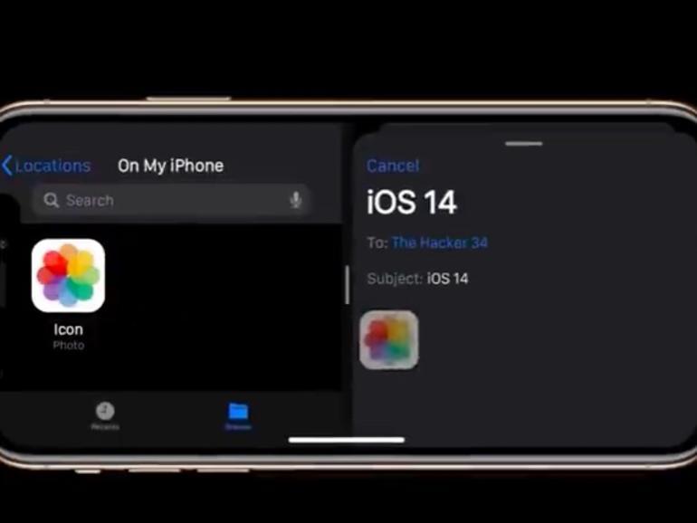 Sieht so iOS 14 aus?